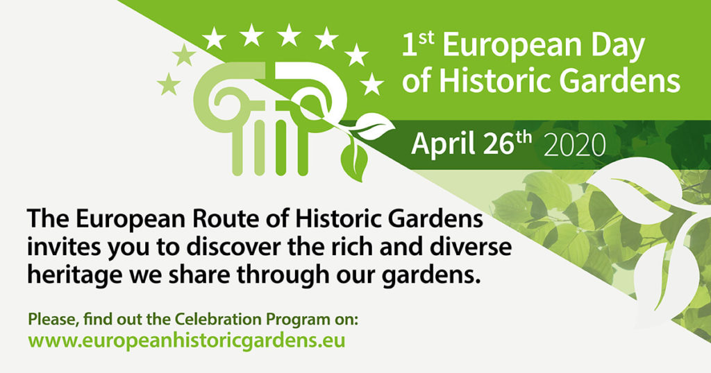 European Day of Historic Gardens - April 26th