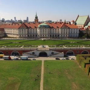 Gardens Of The Royal Castle In Warsaw