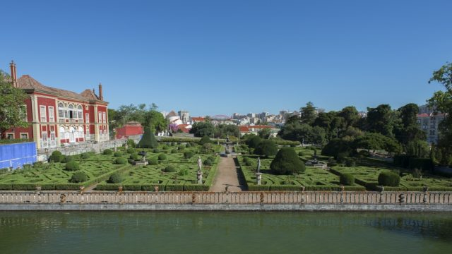 Garden of the Fronteira Palace