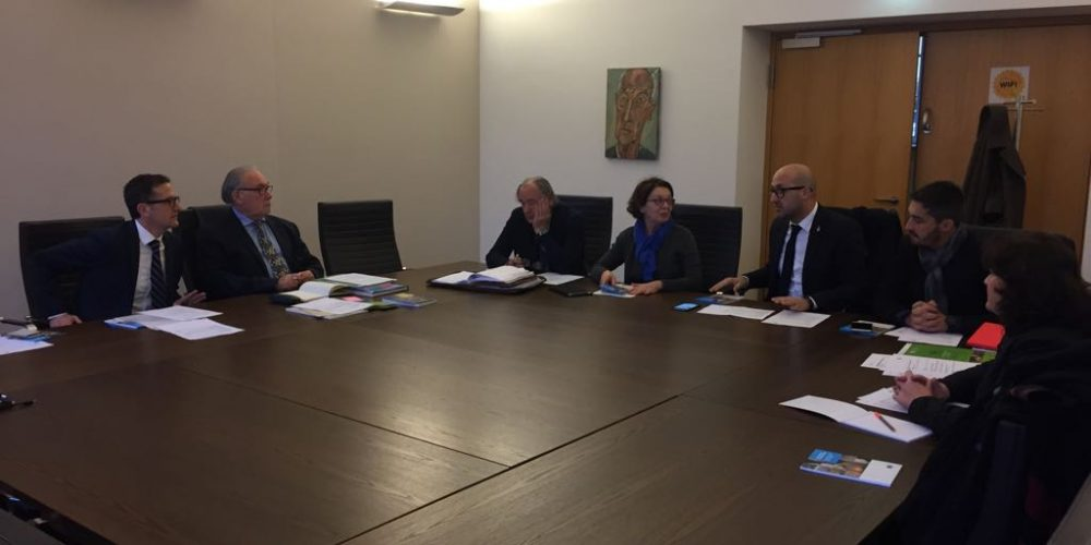 Meeting at European Institute of Cultural Routes.