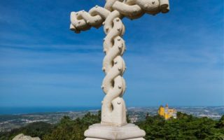 Park of Pena, High Cross © PSML Wilson Pereira