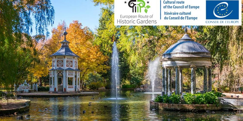 "The European Route of Historic Gardens has been certified as a ""Cultural Route of the Council of Europe"""