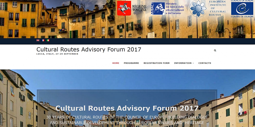 Cultural Routes of the Council of Europe Advisory Forum 2017