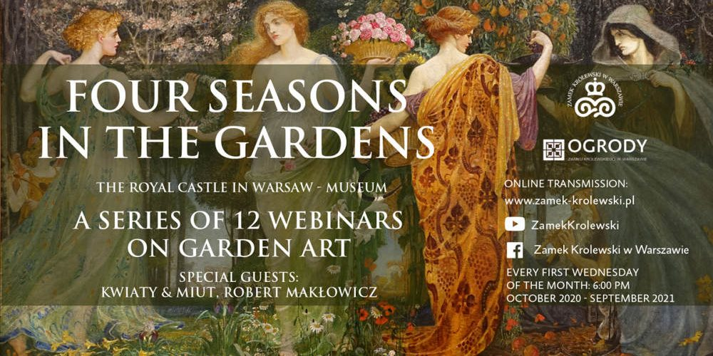 Four Seasons in the Gardens: Webinars on garden art