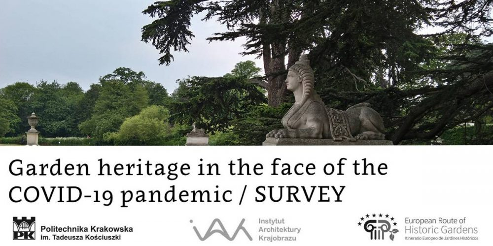 Garden heritage in the face of the COVID-19 pandemic – Survey